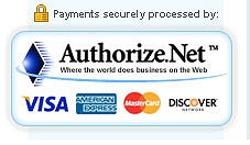 Secure Purchase Through Authorize.net